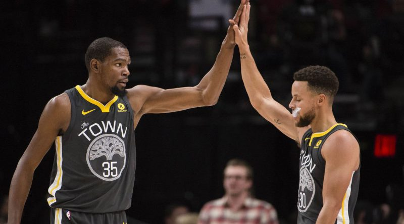 Kevin Durant ve Stephen Curry