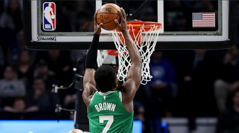 Boston Celtics Jaylen Brown vs Minnesota Timberwolves