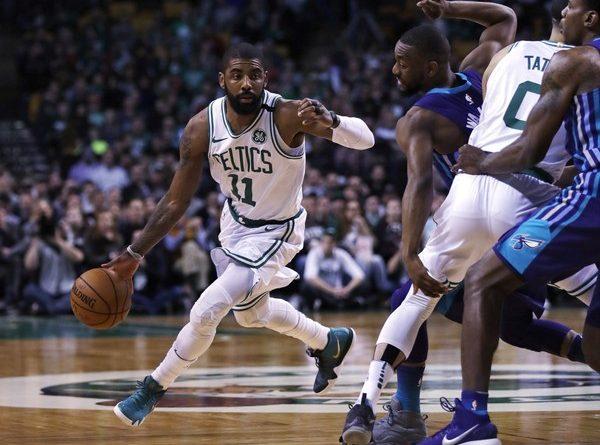 Kyrie Irving Boston Celtics vs Charlotte Hornets