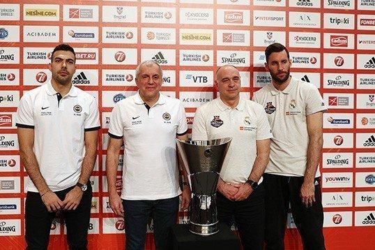 Euroleague basın toplantısı